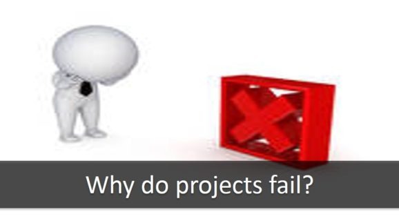 why project fail 2010-6-23  i spend a portion of my time recovering troubled projects or helping project managers avoid traveling down the road towards a troubled project in doing this, i keep making the same observation over and over again: most project managers are failing to better understand why i am saying this, we'll.